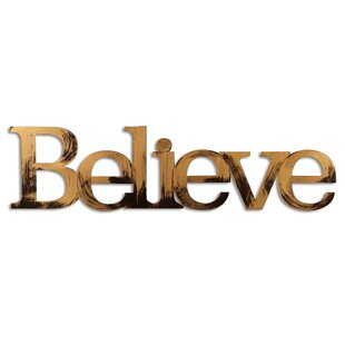 Believe Wall D?cor by Letter2Word