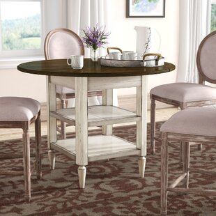 Baleine Drop Leaf Dining Table Lark Manor