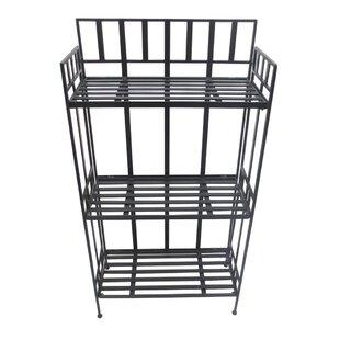 Seawell 3 Tier Shelf Iron Baker's Rack (Set of 2)