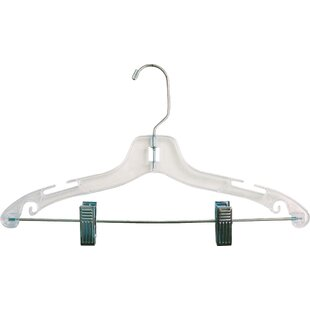 Best Reviews Plastic Combo Nursery Hanger with Adjustable Cushion Clips (Set of 100) By Rebrilliant