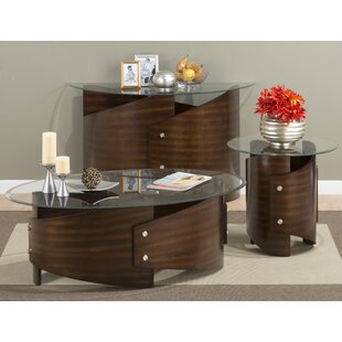 Orren Ellis Cooney 3 Piece Coffee Table Set
