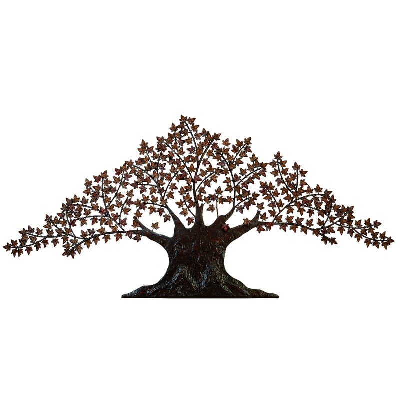 Cypress Tree Wall Art Metal Wall Art Wind And Weather