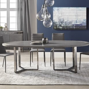 Emlenton Oval Dining Table & Round To Oval Dining Table Set | Wayfair