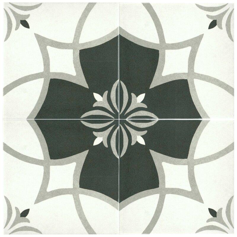 Elitetile Forties 7 75 Quot X 7 75 Quot Ceramic Field Tile In