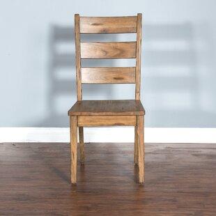Best Price Joliette Dry Leaf Ladderback Dining Chair by Loon Peak Reviews (2019) & Buyer's Guide