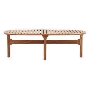 Berube Patio Teak Coffee Table by George Oliver Great price