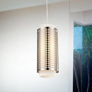 CWI Lighting 1-Light Cylinder Pendant