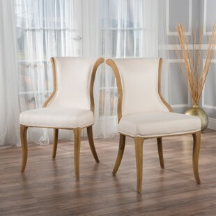 Keil Upholstered Dining Chair (Set of 2) Willa Arlo Interiors