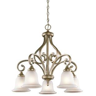 Buy luxury Bretton 5-Light Shaded Chandelier By Red Barrel Studio