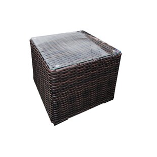 Purchase Santa Monica Wicker Side Table Great Price