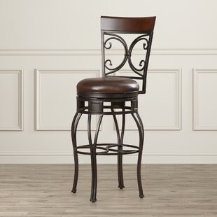 Matherville 30 Swivel Bar Stool