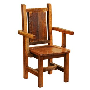 Solid Wood Dining Chair Fireside Lodge