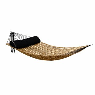 Sandy Natural Teak Double Hammock