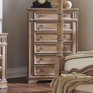 George 6 Drawer Chest by One Allium Way Best Choices
