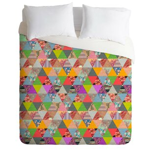 East Urban Home Lost in Pyramid Duvet Cover Set