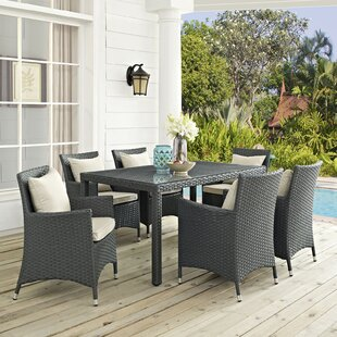 Tripp 7 Piece Dinning Set with Cushions
