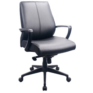 Reviews Leather Executive Chair By Tempur-Pedic
