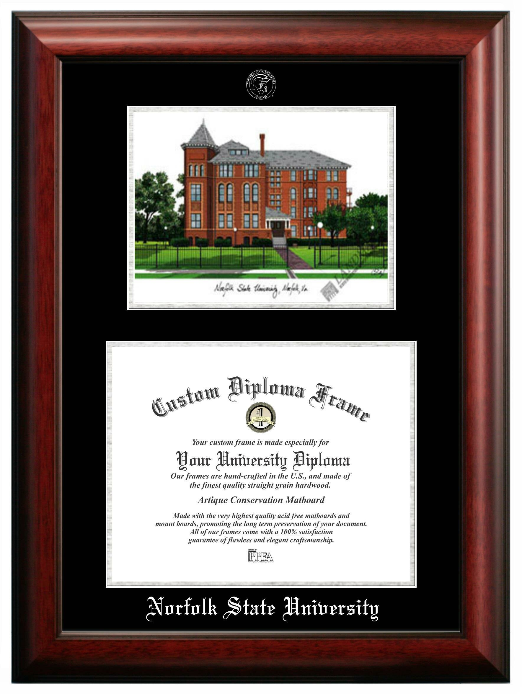 Campus Images Norfolk State Picture Frame Wayfair