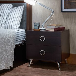 Reviews Fitzsimmons 2 Drawer Nightstand by Orren Ellis