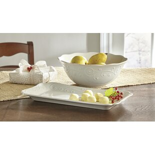 French Perle Hors D' oeuvres Serving Tray