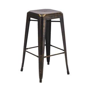 Vogue Furniture Direct Backless Metal 30