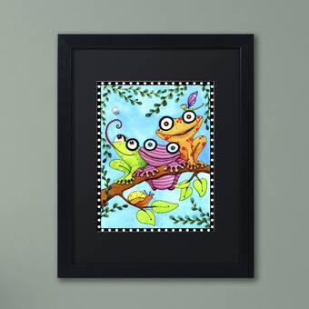Trademark Art Santa Moon Framed Art Wayfair