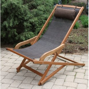 Beachcrest Home Mallie Folding Beach Chair