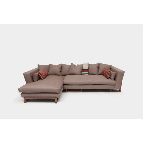 Quartz Left Hand Facing Chaise Sofa: ARTLESS LRG Left Hand Facing Sectional