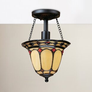 Hambleton 1-Light Semi Flush Mount by Astoria Grand