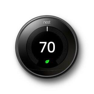 Google Nest Wi-Fi Enabled Thermostat By Google Nest