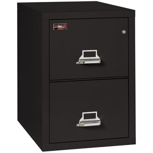 FireKing Fireproof 2-Drawer 2-Hour Rated Vertical File Cabinet