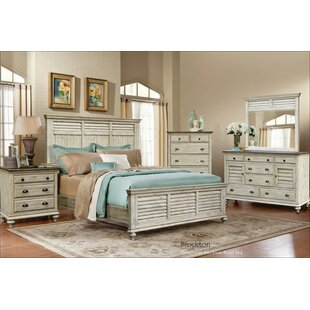 Gracie Oaks Manna Panel 5 Piece Bedroom Set