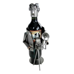Photographer Caddy 1 Bottle Tabletop Wine Rack by H & K SCULPTURES