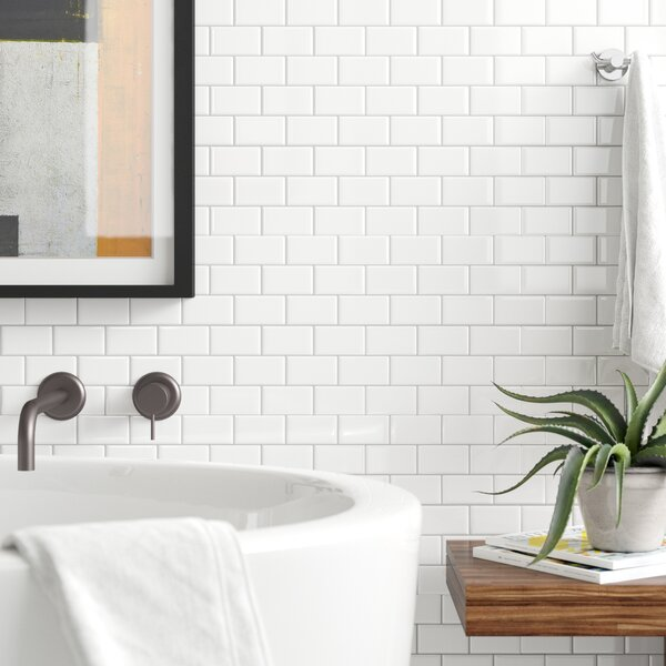 Peel Stick Bathroom Tile You Ll Love In 2020 Wayfair