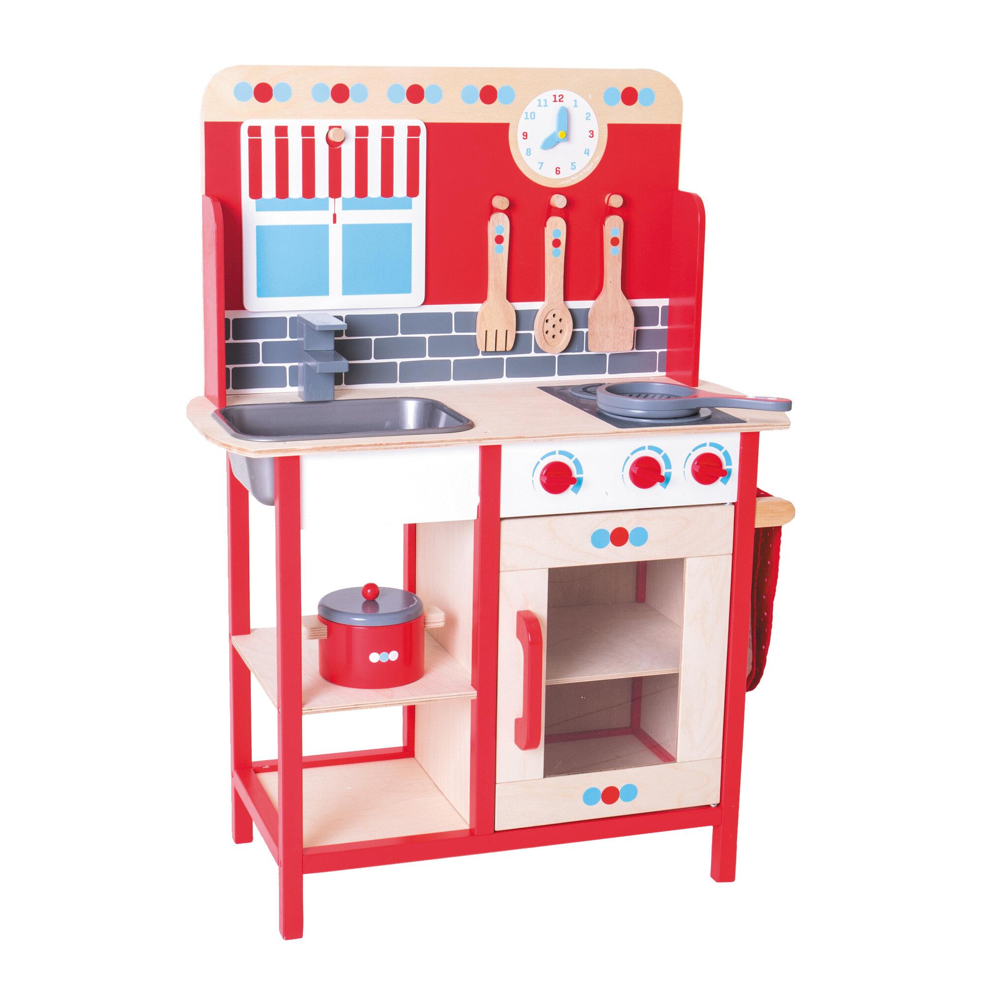 6 Piece Play Kitchen Set