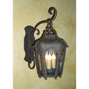 Norval 3-Light Outdoor Wall Lantern by As..
