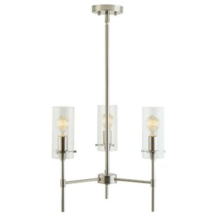 Greyleigh Plattsmouth 3-Light Shaded Chandelier