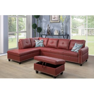 Red Barrel Studio Samuelson Sectional wit..