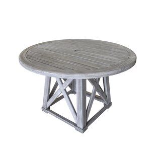 Jessica Solid Wood Dining Table by Gracie Oaks