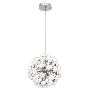 Orren Ellis Aleshia 49-Light LED Globe Chandelier