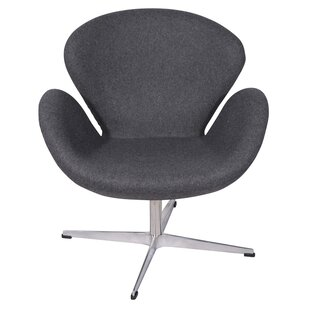 Ginnifer Swivel Armchair by Ivy Bronx Best #1