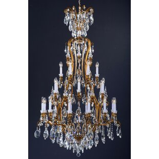Justus 13-Light Crystal Chandelier by Astoria Grand