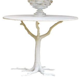 Global Views Faux Bois Dining Table