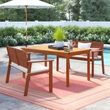Elsmere 3 Piece Dining Set with Cushions
