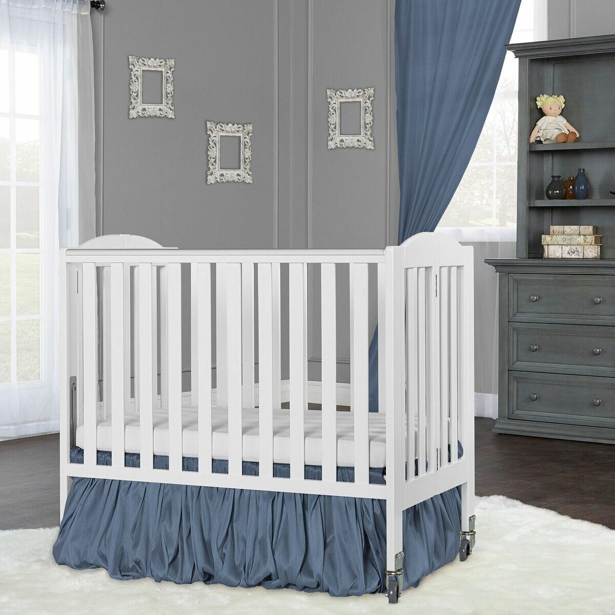 Dream On Me Birch Folding Portable Crib Reviews Wayfair