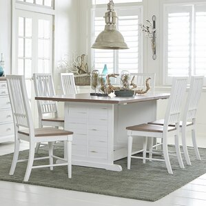 Galliano 7 Piece Dining Set by Rosecliff ..