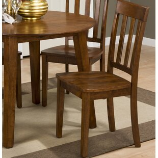 Antrim Solid Wood Dining Chair (Set of 2) Alcott Hill