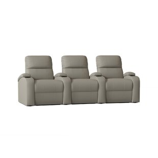 Home Theater Row Seating Row of 3 by Winston Porter