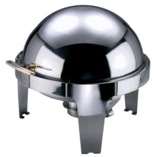 6.8 L Roll Top Chafing Dish by Symple Stuff