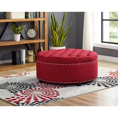 Red Storage Ottomans Amp Poufs You Ll Love In 2019 Wayfair